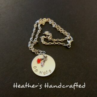 Go Hogs Necklace